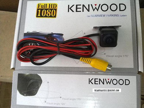 KENWOOD Multi-Angle Front Rear View Camera