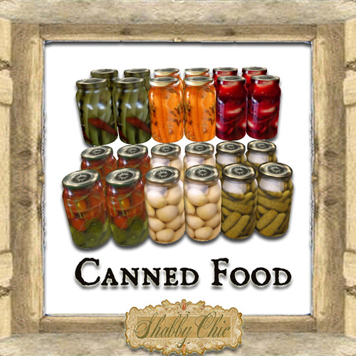 Shabby Chic Canned Food by Shabby Chics