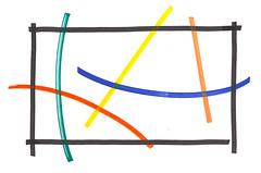 COMPOSIÇÃO TRAÇOS (susana - DEXTERA - design) Tags: design desenho composição marcador hidrocor dextera
