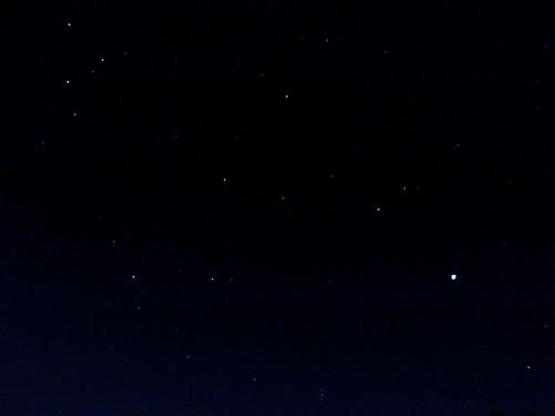 石山展望台の星空2