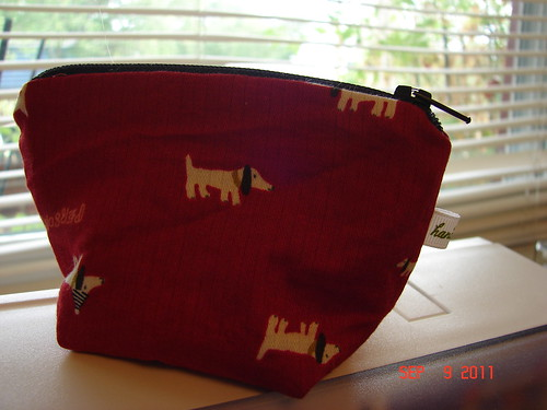 mini dog pouch