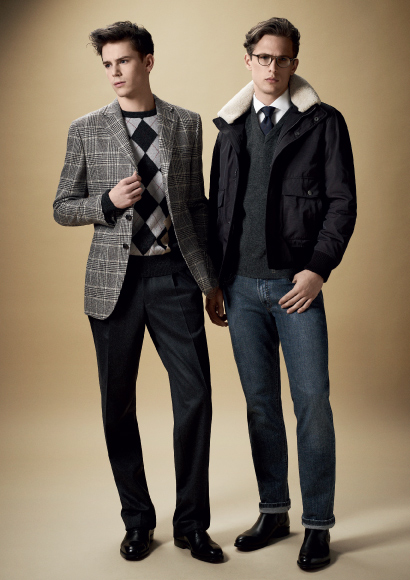 DAKS FW11_007Laurent Albucher&Jeremy Young