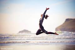 Born to Fly - Jump #6 of #100 (Olivia L'Estrange-Bell) Tags: project jump cornwall 100 jumps autumnsun southwestcoast northcornwall englishcoast canoneos5dmarkii oliviabell oliviabellphotography 100jumps tbsart