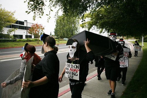 AIDS Healthcare Foundation Protest at Gilead Sciences