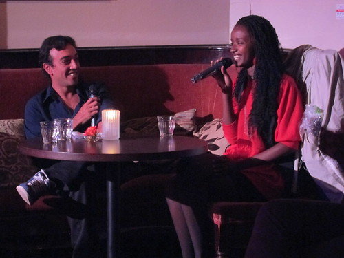 Pedro interviews Amina Sewali