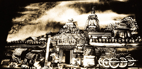 Sand Animation Jagananth Temple Wallpaper