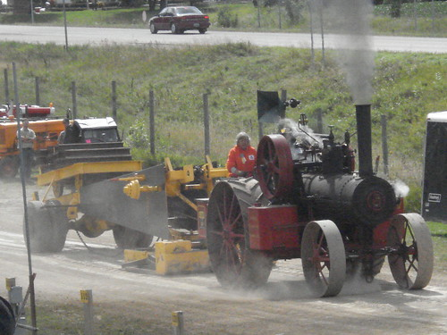 Tractor pull at WMSTR
