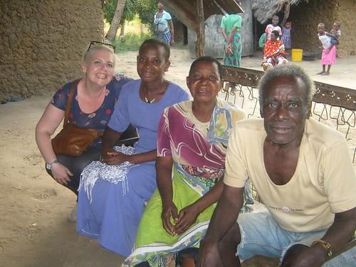 Clare, Mercy & her parents