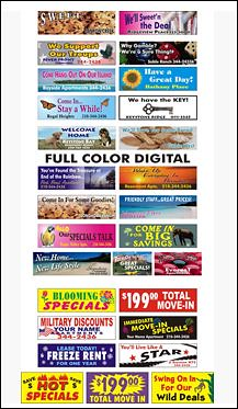 Full Color Digital Print Signs and Banners