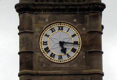 The Town Clock Face, Machynlleth (harrypope) Tags: clock clocktower townclock machynlleth