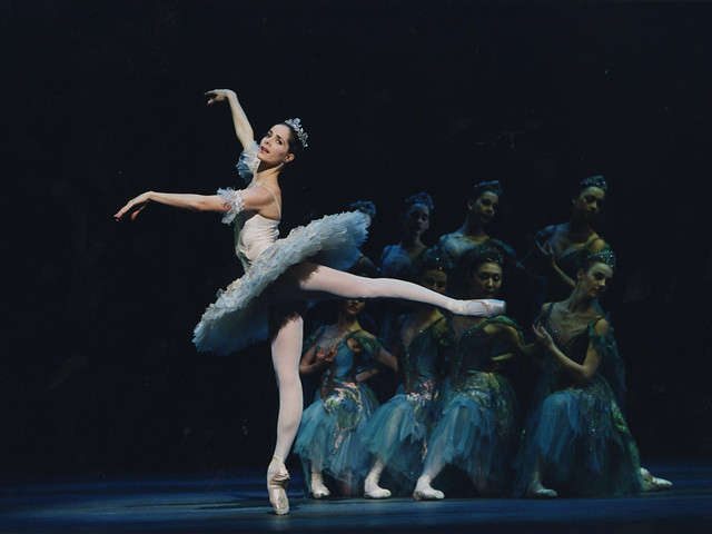 Darcey Bussell as Princess Aurora in The Sleeping Beauty  © Bill Cooper