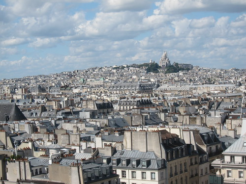 Montmarte from Centre Georges Pompidou