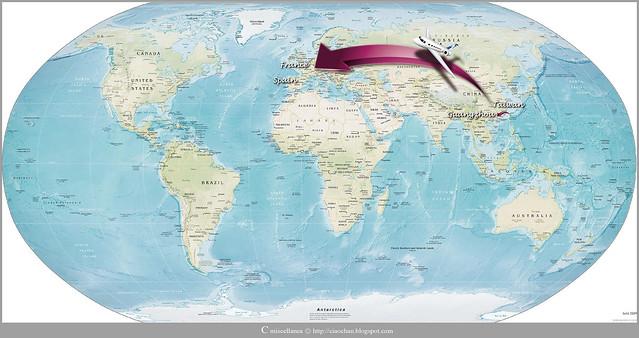 出走異鄉 → 2011 法國、西班牙 自助旅行規劃 旅行旅行誌-01
