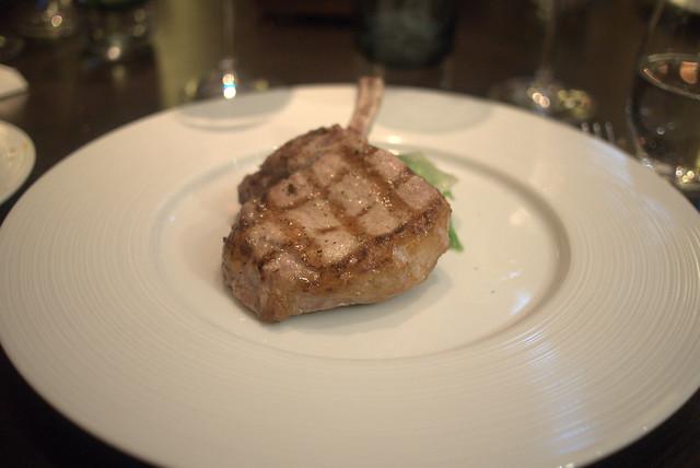 Heston Dinner Pork Chop