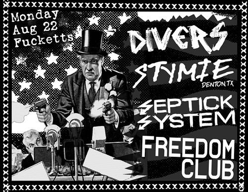 8/22/11 Divers/Stymie/SeptickSystem/FreedomClub