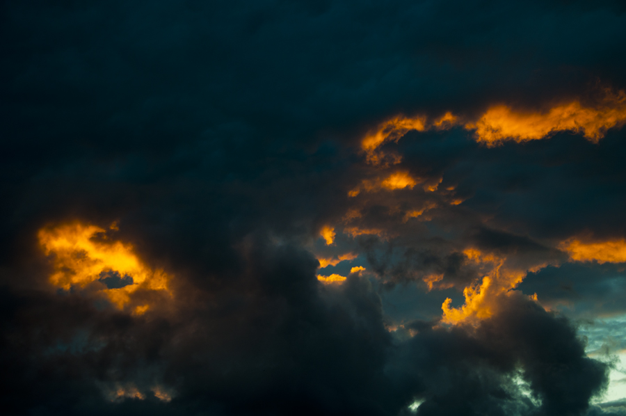Fire in the sky #1