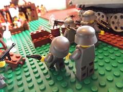DSCF1147 (phelipe247) Tags: toys tank lego contest plastic ww2 americans panther germans brickarms brickmania