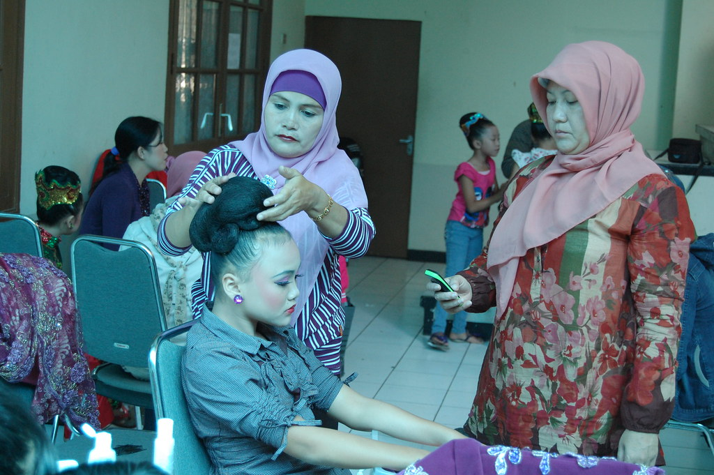 Make-Up and Preparation by Mothers