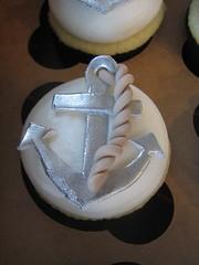 Anchor Cupcake (sugarcrushmiami) Tags: sailboat anchor vanilla lifesaver fondant buttercream nauticalcupcakes nauticalcake sugarcrush sugarcrushmiami sailingcake sailingcupcakes