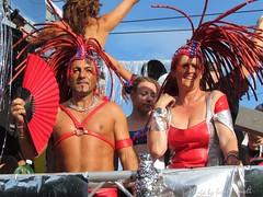 Street Parade 2011 - Zurich - red brazilian style