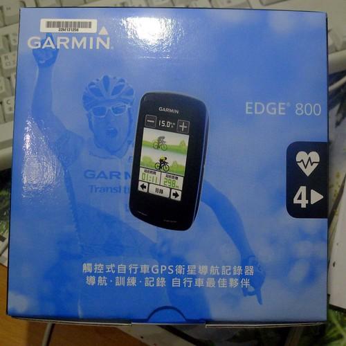 Garmin Edge 800 自行車導航