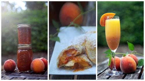 """peaches: marmellata, """"ravioli"""", bellini"""