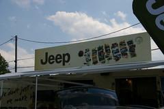 Jeep Corporation Display Area (geepstir) Tags: pictures jeep photos pennsylvania pa photographs butler captures bantam bantamjeep bantamjeepfestival bantamjeepheritagefestival