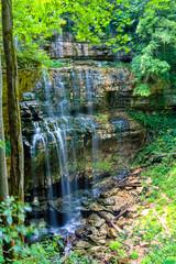 Virgin Falls (mikerhicks) Tags: usa geotagged waterfall unitedstates tennessee waterfalls sparta bethesda hdr photomatix tennesseestateparks virginfalls mobra virginfallsstatenaturalarea geo:lat=3583849002 geo:lon=8533029520