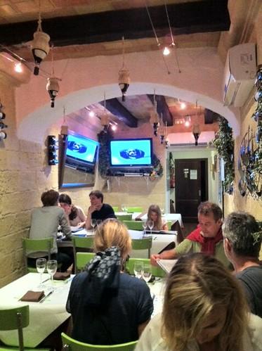 la Fornells Menorca | Restaurante La Guapa | Interior