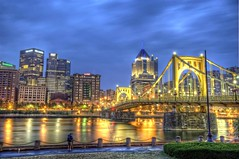 Blue hour and Clemente Bridge HDR (Dave DiCello) Tags: beautiful skyline photoshop nikon pittsburgh tripod christmastree northshore bluehour nikkor hdr highdynamicrange pncpark pittsburghpirates cs4 steelcity photomatix beautifulcities yinzer pittsburghbridges cityofbridges tonemapped theburgh pittsburgher colorefex cs5 beautifulskyline d700 thecityofbridges pittsburghphotography davedicello pittsburghcityofbridges steelscapes beautifulcitiesatnight hdrexposed picturesofpittsburgh cityofbridgesphotography