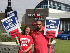 Verizon Picket Local 6016