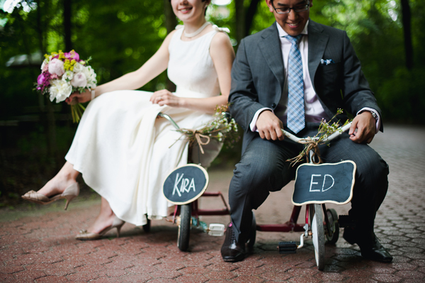 Kira + Ed : married!