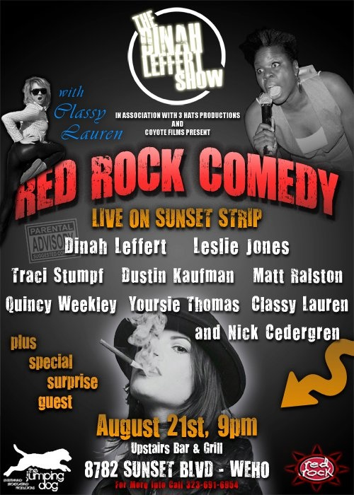 RED ROCK COMEDY 8-21-11