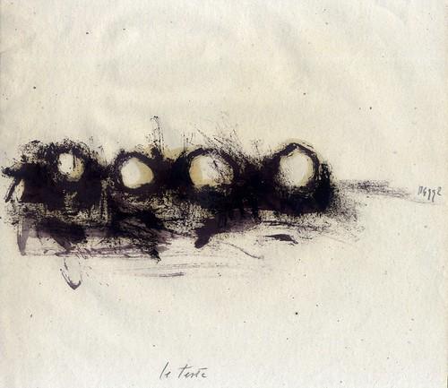 Le teste (01) by Mariangela Guatteri