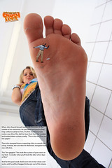 Professor01 (gtsblade) Tags: feet socks foot sock squish crush giantess gts shrink shrunkenman