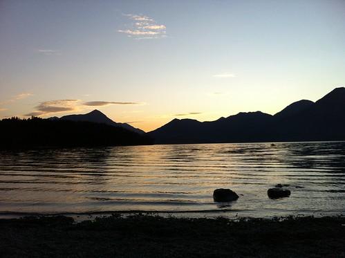 Ein wunderschöner Abend am Walchensee