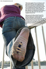 BigSis05 (gtsblade) Tags: feet socks foot sock squish crush giantess gts shrink shrunkenman