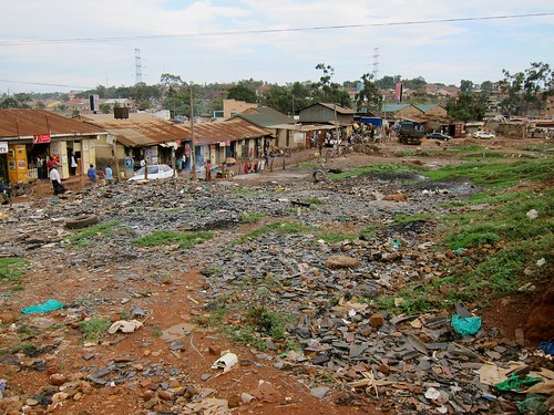 Eviction site, Kisenyi, Kampala
