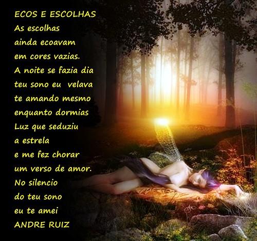 ECOSE E ESCOLHAS by ruizpoeta@me.com