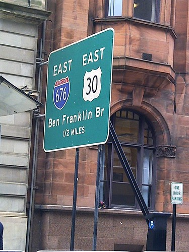 Philadelphia Street Signs in Glasgow