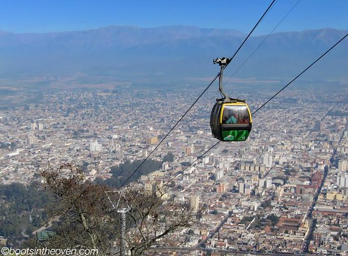 Cable Car above Salta