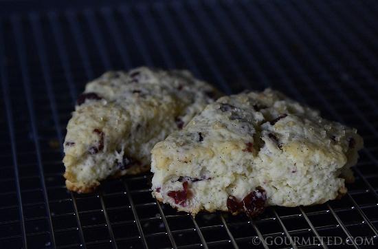 Cranberry-Vanilla Scones