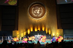 O-mei at the United Nations 2011 (omeiwushu) Tags: china nyc chinese performance martialarts tai karate chi unitednations kungfu sword wushu jetli chigong