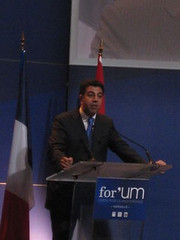 UfMS Secretary General speaks at the for'UM, invest in the Mediterranean (ahmadmasadeh) Tags: ahmad masadeh