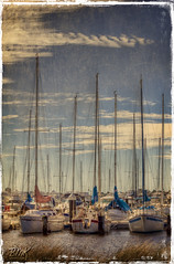 (B.M.K. Photography) Tags: sky clouds river boats textures hdr dda darkwood67 magicunicornverybest shadowhousecreations