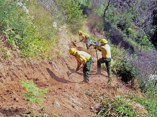 Crews worked for months to rehabilitate nearly two hundred miles of remote trails.
