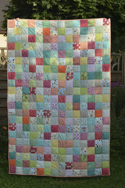 Finished Quilt. Finally!