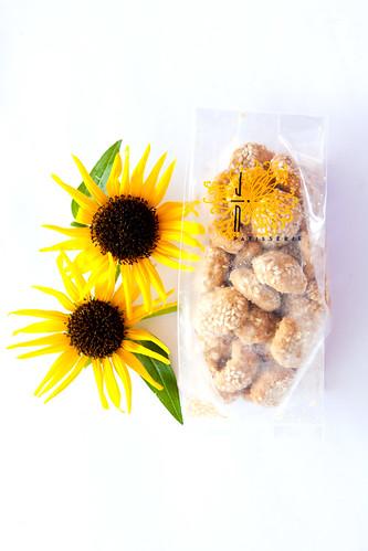 Sesame Peanut Butter Cookies