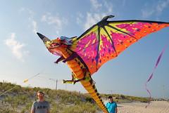 Ferian flying his kite