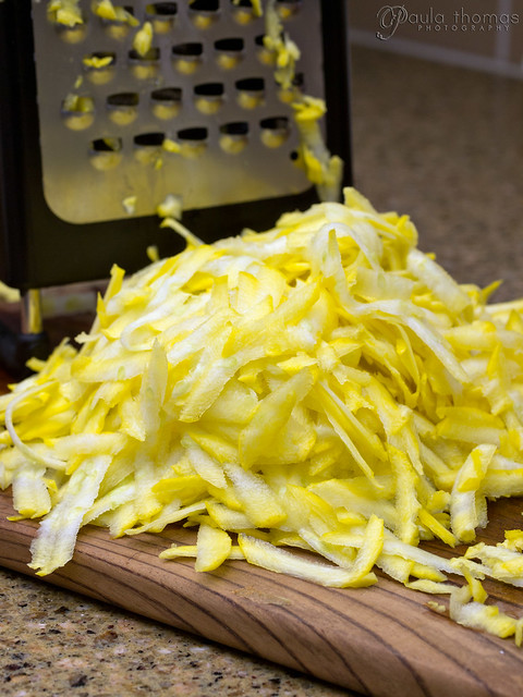 Grated Yellow Zucchini